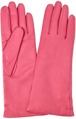 Portolano Women's Leather Pink Gloves