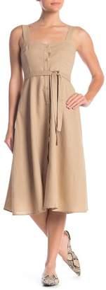 Love + Harmony Woven Midi Dress