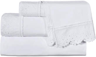 Piper & Wright Eyelet 4-Pc. California King Sheet Set Bedding