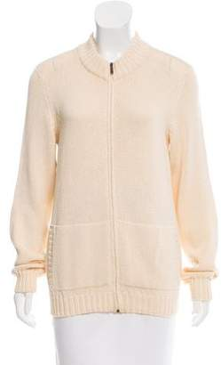 Max Mara Long Sleeve Knit Cardigan