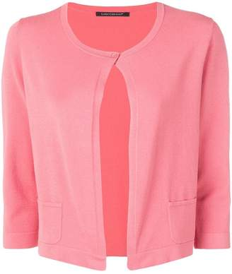 Luisa Cerano open front knitted cardigan