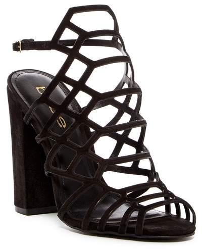 bebe Naara Block Heel Sandal