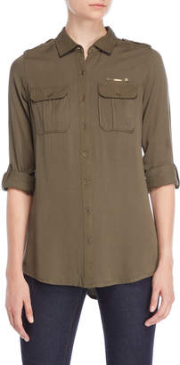 Coupe Collection Roll Tab Pocket Shirt
