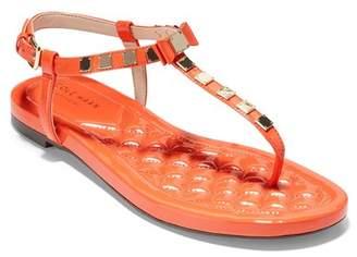 Cole Haan Tali Mini Bow Studded Leather Sandal
