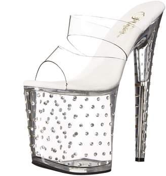 Pleaser USA Women's Stdus802/C/M Platform Dress Sandal