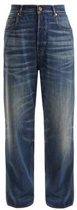 Golden Goose Kim High Rise Straight Leg Jeans - Womens - Denim