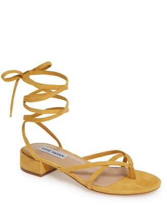 7fa8cec381c Yellow Lace Up Women s Sandals - ShopStyle