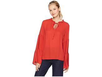 Bobeau B Collection by Flanna Poet Blouse