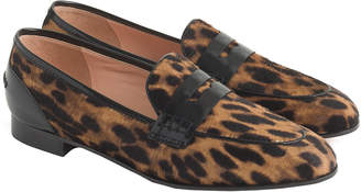 J.Crew Academy Haircalf Penny Loafer