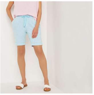Joe Fresh Women's French Terry Shorts, Light Teal Mix (Size XS)