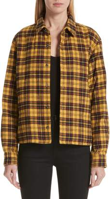 Undercover Plaid Shirt Jacket