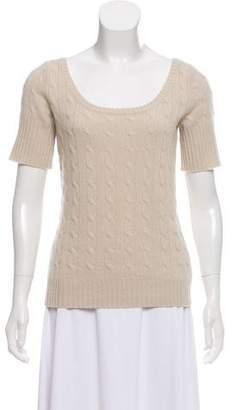 Ralph Lauren Cashmere Short Sleeve Top