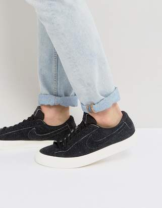 Nike Blazer Studio Low Sneakers In Black 880872-002
