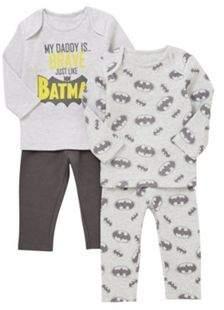 Warner Bros. 2 Pack of Batman Pyjamas