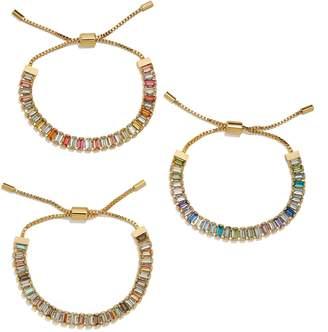 BaubleBar Alidia Set of 3 Slider Bracelets