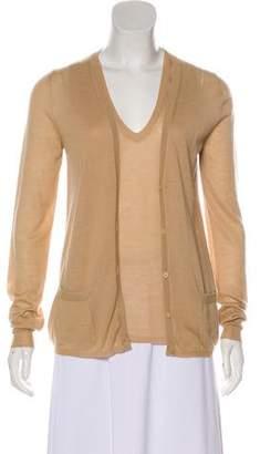 Bottega Veneta Cashmere Knit Cardigan Set