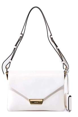 Prada Fold-Over Shoulder Bag