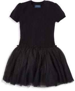 Ralph Lauren Little Girl's Tulle Sweater Dress