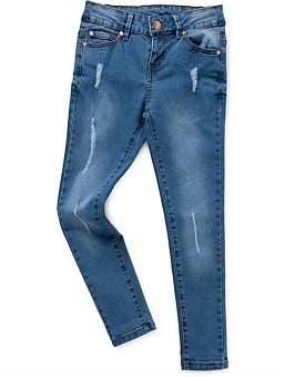 (&US) Adjustable Rip & Repair Jeans
