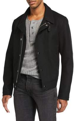 Tom Ford Men's Wool Biker Jacket