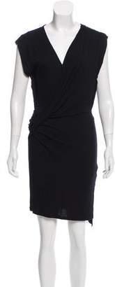 AllSaints Draped Front Sleeveless Dress