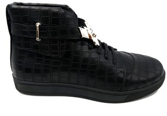 Mecca Men's Prince High Top Sneakers with Buckle
