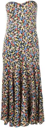 Veronica Beard floral print midi dress