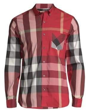 Burberry Thornaby Button Down Shirt