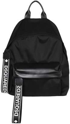 DSQUARED2 Logo Tape Nylon Backpack