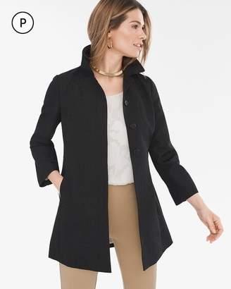 Petite Pleat-Back Jacket