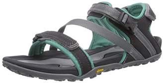 Hi-Tec Womens Aurora Sandals Trekking and Walking Shoes Gray Size: 4