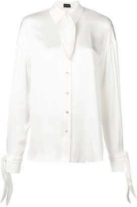 7706adc67073da White Shirt With Bow Tie - ShopStyle Canada