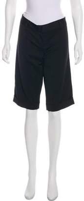 Trina Turk Mid-Rise Cropped Pants