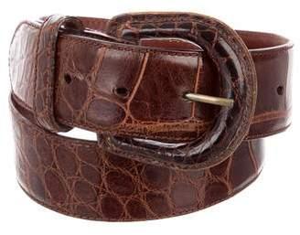 Polo Ralph Lauren Alligator Waist Belt