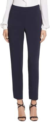 St. John Classic Cady Stretch Cropped Pants