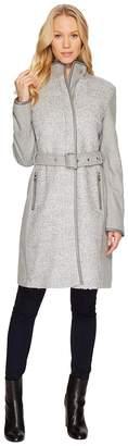 Vince Camuto Belted Wool Coat N1151 Women's Coat