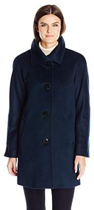 Ellen Tracy Outerwear Women's Angora Blend Kimono $150 thestylecure.com