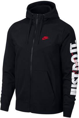 Nike Men's Sportswear Just Do It Fleece Zip Hoodie