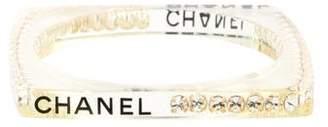 Chanel Crystal Resin Bangle