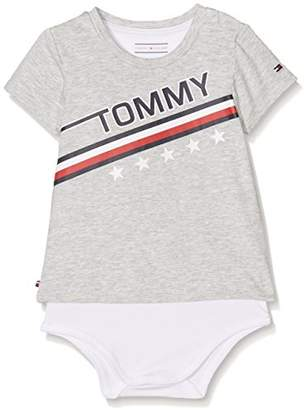 Tommy Hilfiger Baby Enthusiastic Tee Body S/s Footies