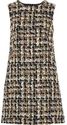 Dolce & Gabbana Cotton Boucle-tweed Mini Dress
