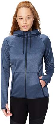 Core 10 Amazon Brand Women's Chill Out Fleece Full-Zip Hoodie (XS-XL Plus Size 1X-3X)