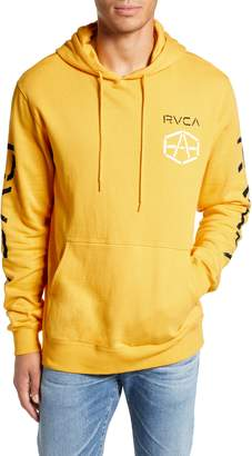 RVCA Reynolds Stencil Print Hoodie