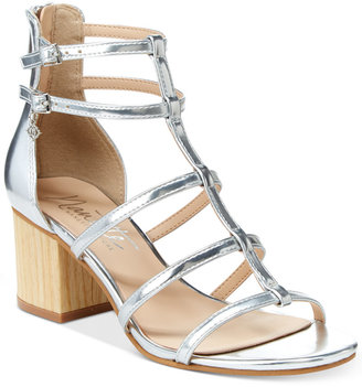 Nanette Lepore Nanette by Rebecca Strappy Block Heel Sandals Women's Shoes
