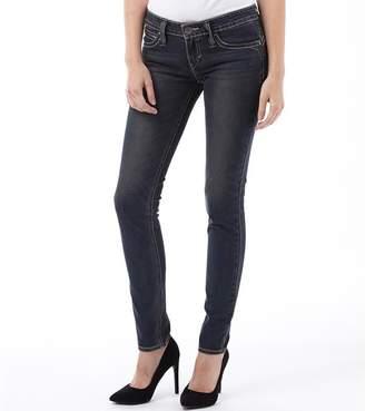 Levi's Womens Revel Low DC Skinny Jeans Fading Chrome