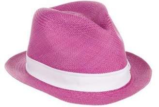 Sensi Studio Bow-Accented Straw Hat