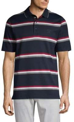Paul & Shark Yachting Stripe Cotton Polo