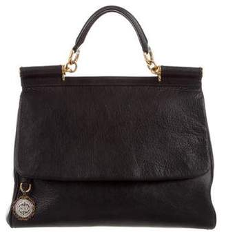 b40fdb8f52d8 Pre-Owned at TheRealReal · Dolce   Gabbana Sicily Leather Bag