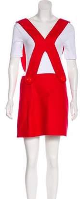 Au Jour Le Jour Wool Mini Dress w/ Tags