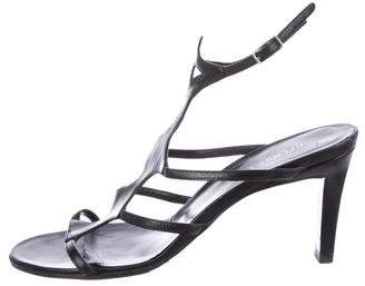 Helmut Lang Leather Cage Sandals